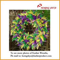 Thanksgiving Holiday Colorful Flower Wreath Headdress
