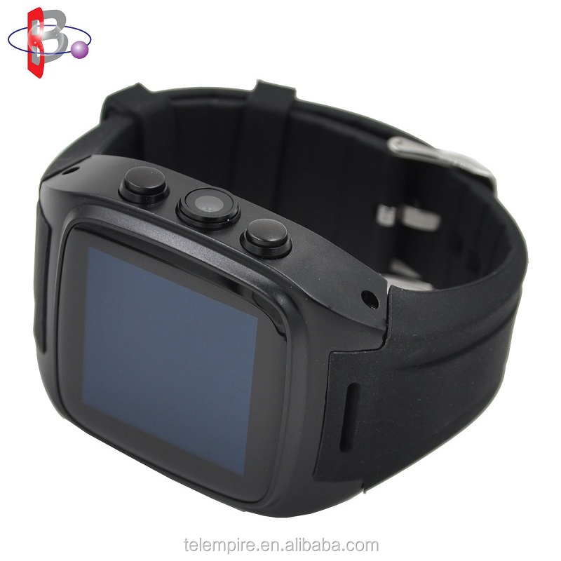 Factory Low Price China Mobile Phone, IPS Screen Sim Card 3G WiFi Bluetooth Android Smart Watch Mobile Phone