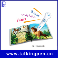 Eco-friendly Material Digital Talking Pen of Educational Toy with Books