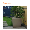 Steel Planter,WPC flower planter,Outdoor pots Fashion