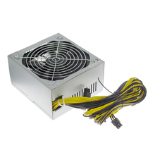 1600w 90 Plus antminer server ATX Power Supply For Eth Rig Bitcoin Miner antminer S7 S9