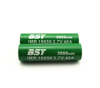 2015 high quality cheap price BSY 40a 18650 battery Recharge lithium battery