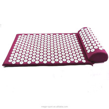 Back Neck Pain Relief and Muscle Relaxation Acupressure Mat and Pillow Set