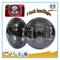 7 Inch Round Led Headlight 12v 24v 7 Inch Round Headlight for Motorcycle,Jeep Wrangler Off Road Vehicles