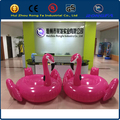 2016 hot CE certificate PVC large beach inflatable loat for adult water toy for adults / inflatable pink flamingo
