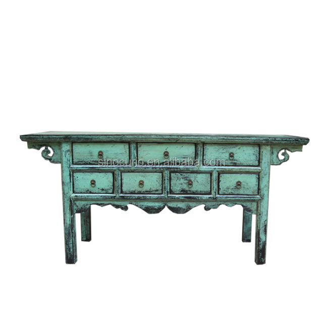 lacquer Chinese antique reproduction chests of drawers living room furniture