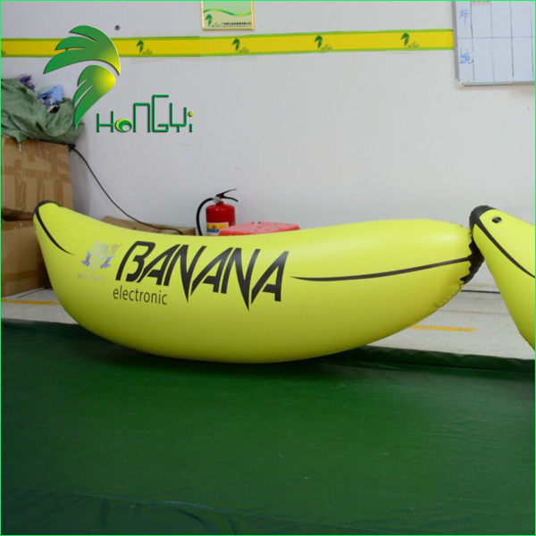 Newest Factory Sell Plastic Banana For Advertising / Promotion Display Inflatable Big Banana Fruit Balloon