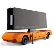 Big size p6 mobile truck led tv screen commercial advertising led display/screen for truck/car/van large