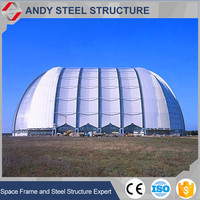 Sewage Treatment Plant Tesile Membrane Structure Shed