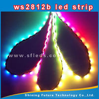 144 led strip ws2812/ws2812b 5050 rgb chip flexible car led strip black light