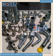 alibaba china supplier pipe stainless/carbon steel hydraulic banjo fitting elbow hydraulic hose fitting brass hydraulic fitting