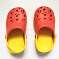 candy color breathable holey soles EVA clogs garden slippers for kids