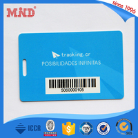MDP366 PVC Hole Punched PVC Card with barcode