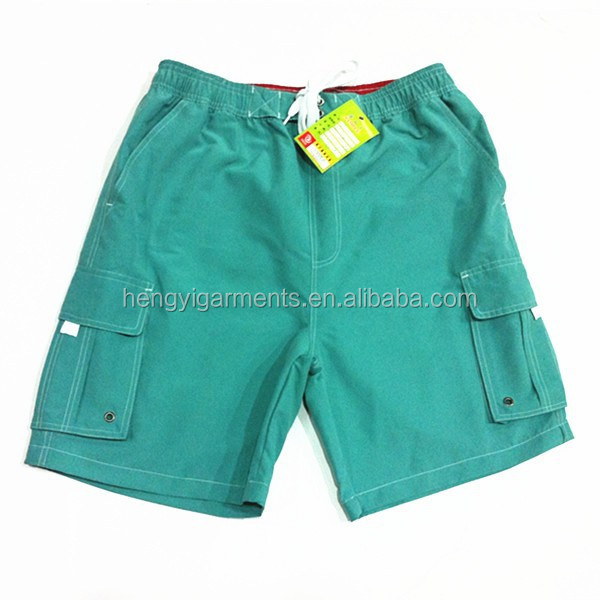 2015 Newest Mens Solid Microfiber Softball Shorts