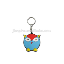 promotional gifts hot product custom logo 2D/3D soft rubber pvc keychain