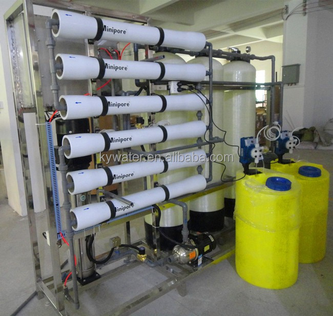 Factory Price KYRO-4000L/H Chlorine Dosing Drinking Water Purification System/RO Plant