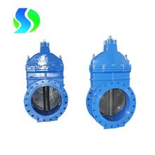 din standard resilient seated rising stem gate valve