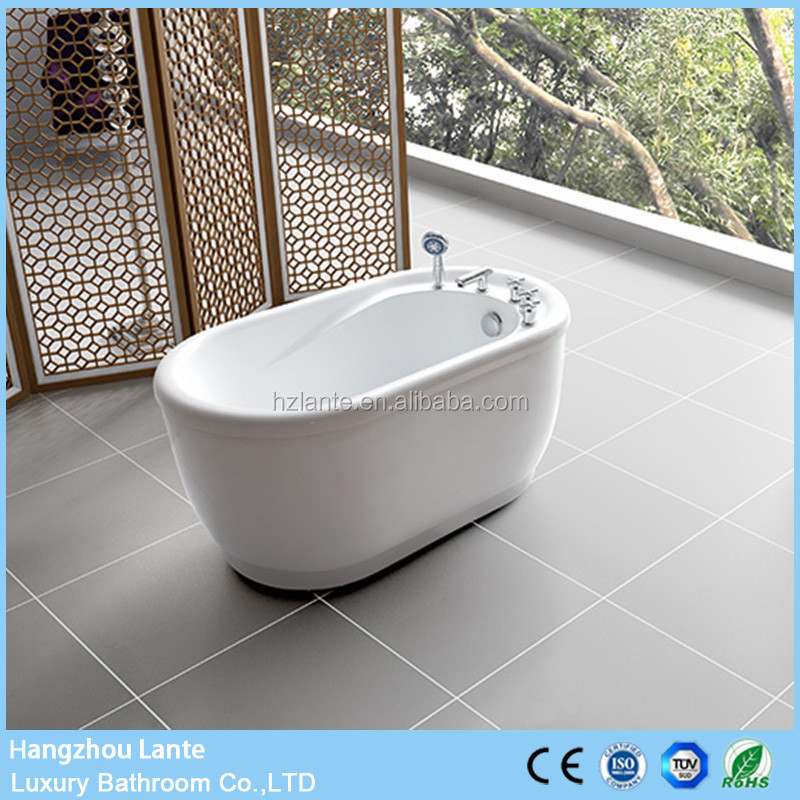 Best Selling small size 51 inch white bathtub