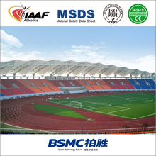 Outdoor High Quality Anti - Slip Polyurethane Spray Coat Synthetic Running Track Cost In China