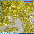Updated cheapest cobalt blue tumbled glass mulch yellow color tumbled glass
