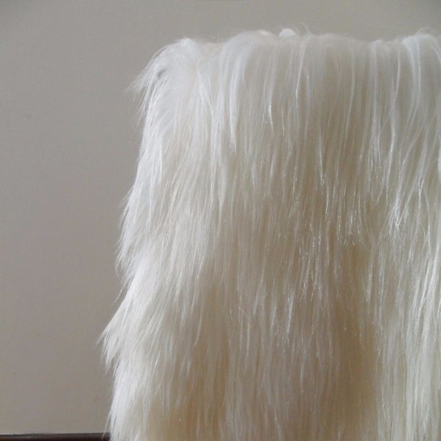 Wholesale High Quality Goat Fur Plate for Coat Material with Cheap Price and 15cm Long Hair