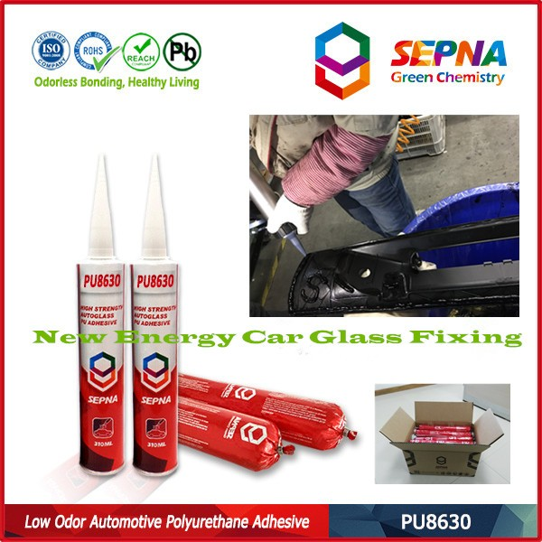 Excellent water, weather and aging resistance PU8630 car repair adhesive windshield polyurethane sealant