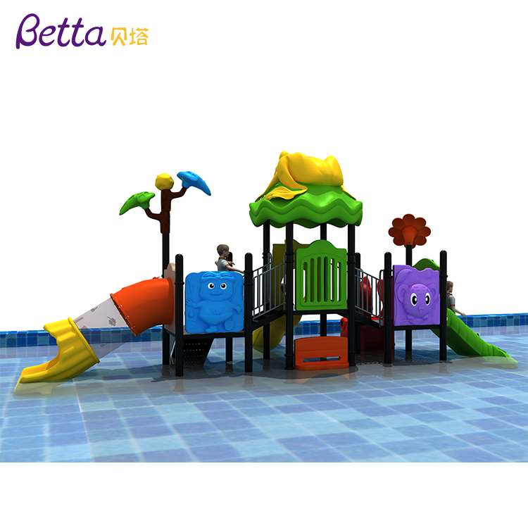 Professional playground manufacturer Amusement Park water Outdoor Castle Playground For Kids