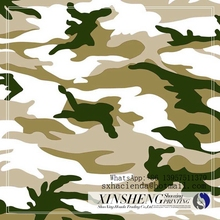 heat transfer printed paper for camouflage military uniform design