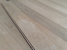 Natural color Russia oak engineered wood flooring with CE,ISO,FSC