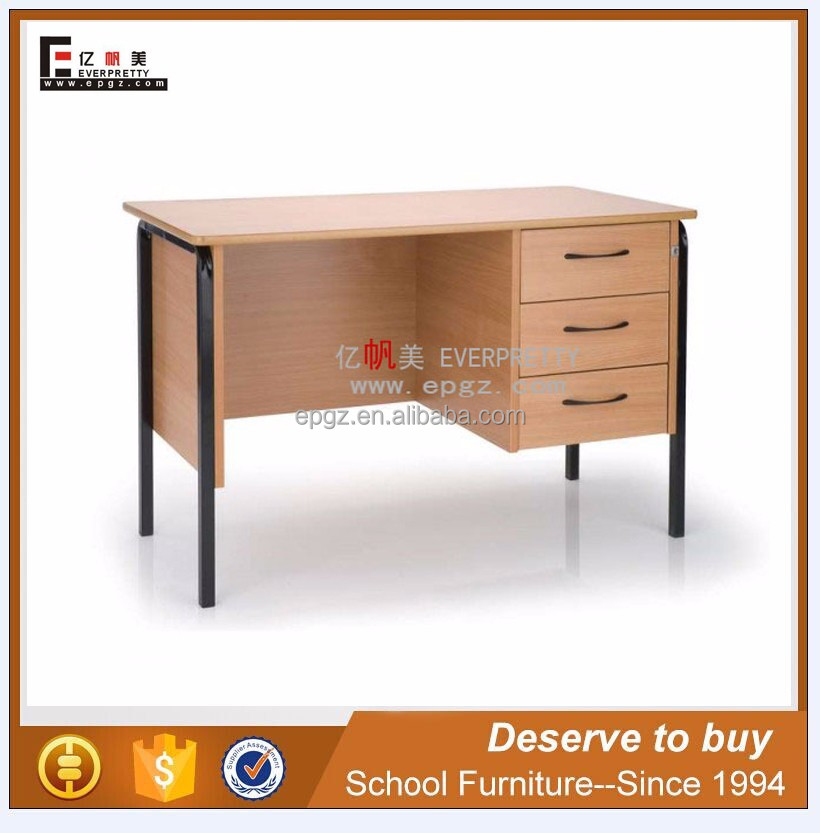 Customized Office Desk Design Steel Modern Desk / School Teacher Desk / Computer Table