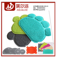 High density 100%recycled super absorbent pet products cat litter mats