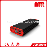 Overload over-temperature short-circuit protect mini car jump starter