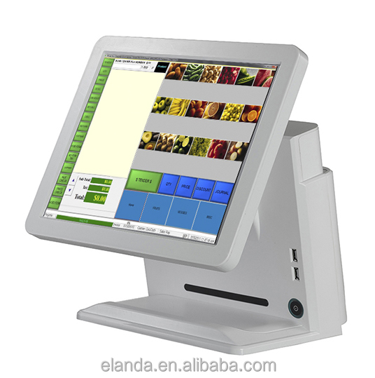 2016 New design cheap resistive touch screen retail pos system / pos hardware for ordering systm