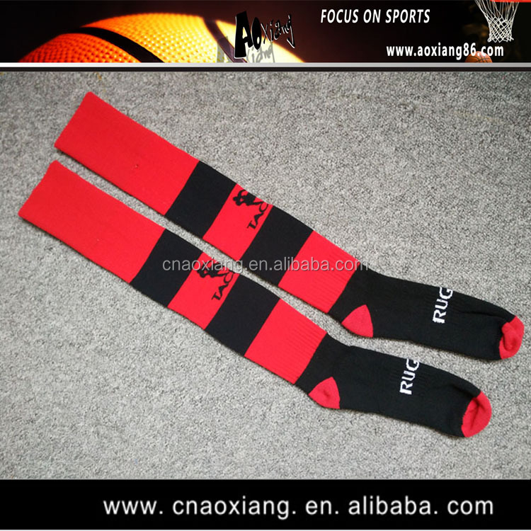 nylon tube sports stocking for men with custom LOGO