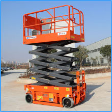 Best selling electro-hydraulic scissor lift,self-propelled mobile hydraulic scissor lift,four wheels mobile scissor lift table