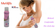 Chinese factory OEM 150ml long lasting deodorant body spray