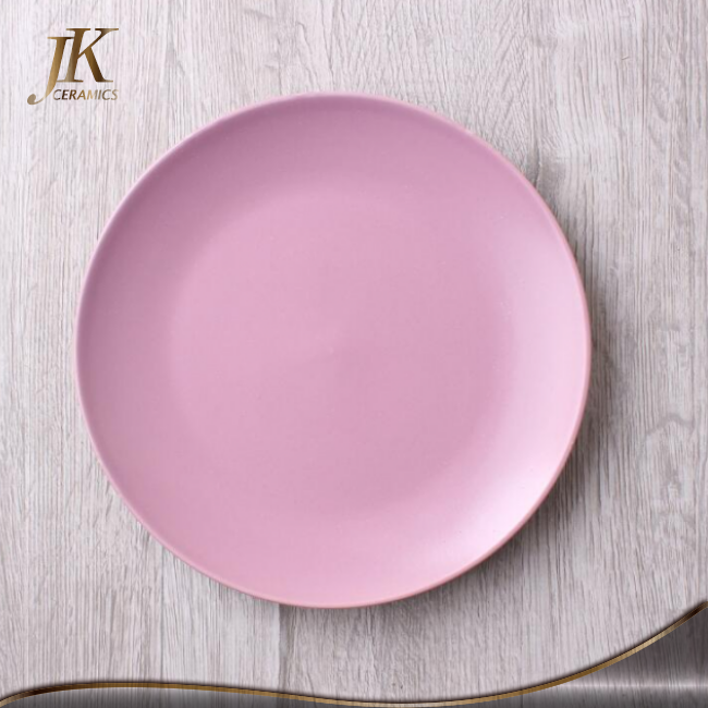 Wholesale allibaba com porcelain matt dinner plate homeware ceramic restautant plate