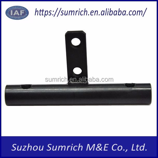 Customized high precision OEM CNC welding and assembly tube Internal threaded