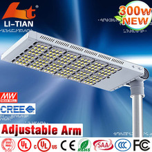 Long lifespan high luminous newest 300 watt led street light