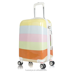 20inch Rainbow Printing Baggage South American Market Carry-on it luggage
