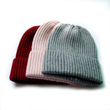 Unisex Winter Adult Cable Knit Beanie Cap Men Knitted Hats