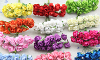 As seen tv hair accessories mulberry paper roses