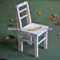 Cheap Shabby Chic Wholesale Wooden Chair for Flower Planter Pot