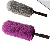 long handle chenille car wash microfiber cleaing duster/brush