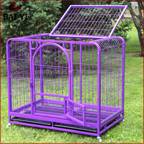 Metal Dog Transport Cage With Plastic Tray Made In China For Sale Cheap !