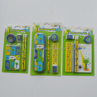 Top Quality Wholesale Office Stationery,Back to School Mini Stationery Set/Cheap Promotion Stationery for kids