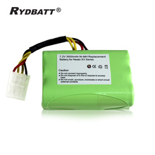 High Capacity 7.2V 3500mah Replacement Battery for Neato XV-11 XV-12, XV-14, XV-15, XV-21, XV-25 Vacuum Cleaner recharge Battery