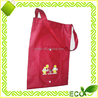 reusable factory offer pp non-woven eco shopper easy carry grocery fashion promotional foldable tote bag