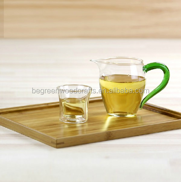 Bamboo serving tray for resturant Wooden bread tray Wooden food tray
