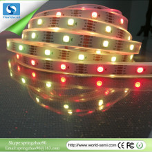 Addressable 5m 30LEDs/m DC5V WS2813 RGB led pixel strip,IP68;epoxy resin filled in the tube,with 30pixels/M;BLACK PCB